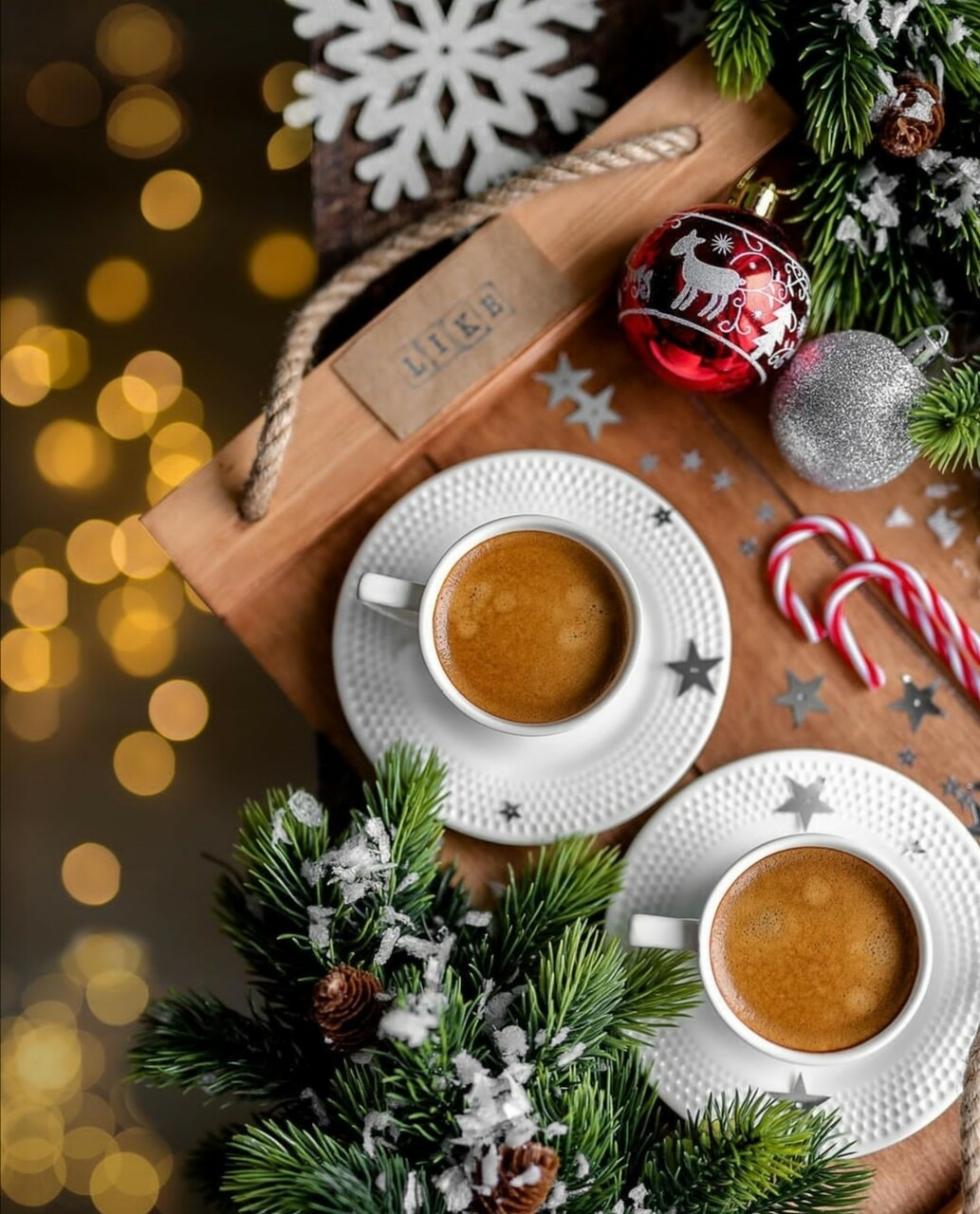 cup of coffee, merry christmas, and coffee time image