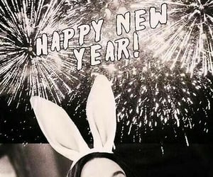alan rickman, happy new year, and harry potter image