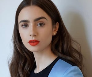 fashion, lily collins, and actress image