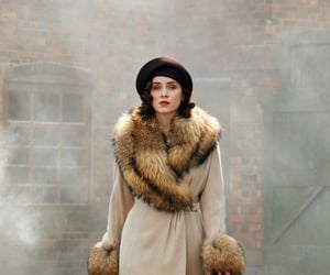 outfit, peaky blinders, and ada shelby image
