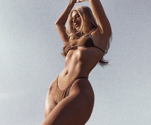 aesthetic, sunkissed, and bikini image