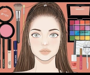 animation, daily makeup, and 애니메이션 image