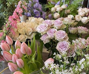 flowers, bouquet, and soft image