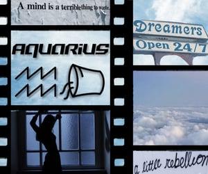 aqua, aesthetic, and aquarius image
