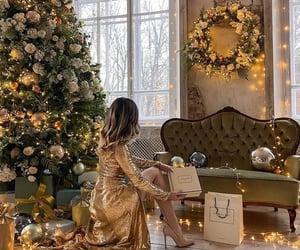 princess, vogue, and golddress image