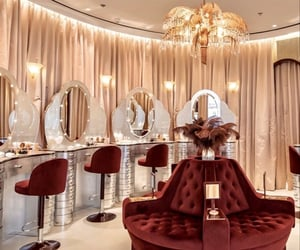 beauty, chandeliers, and luxurious image