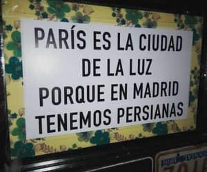 cartel, madrid, and parís image