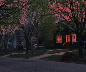 aesthetic, house, and street image