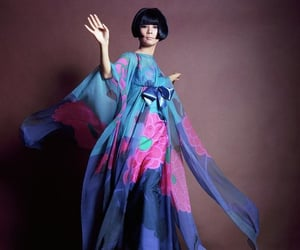 aesthetic, editorial, and 1960s fashion image