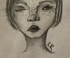 face, reference, and sketch image