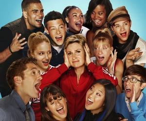 cast and glee image