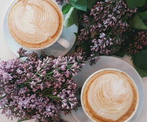 accessories, cozy, and coffee latté image