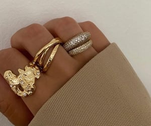 gold and rings image