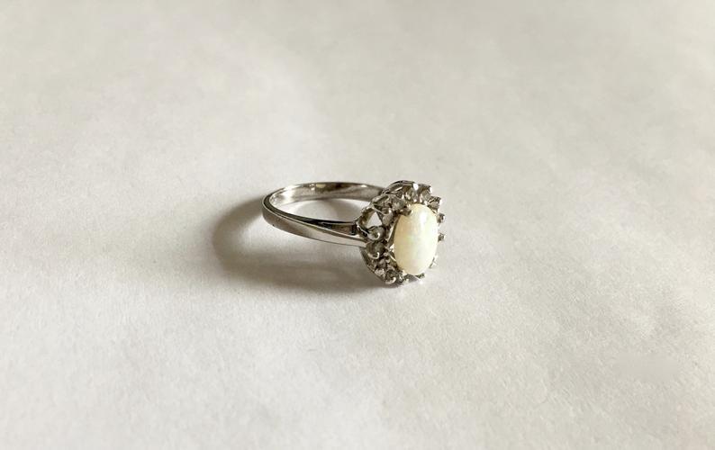 elegant, etsy, and gemstone ring image
