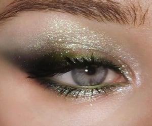 aesthetic, eyes, and glow image