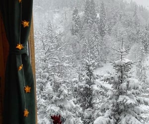 snow, snowy, and winter image
