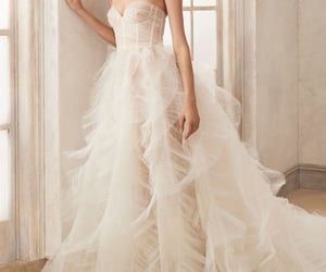 bridal, gown, and model image