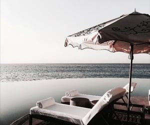 beach, sea, and beauty image