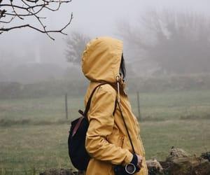 girl, photography, and yellow image