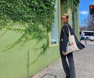 street style, everyday look, and black blazer image