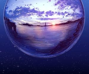 background, scenery, and 白夜reki image