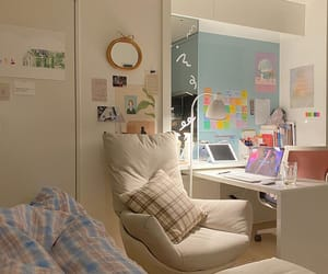 bedroom, bedroom decor, and home image