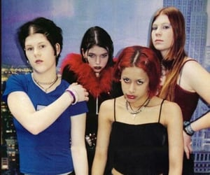 2000s, kittie, and mall goth image