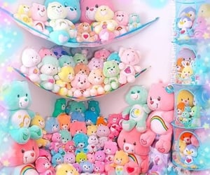 aesthetic, background, and carebear image