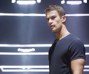four, theo james, and insurgent image
