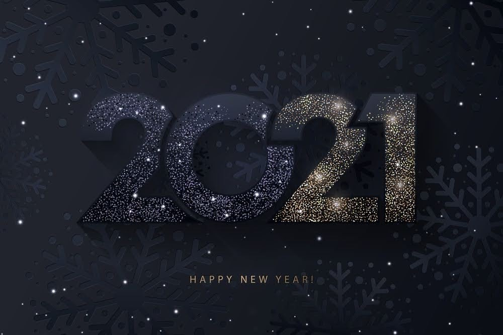 2020, carefree, and christmas image