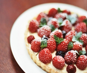 dessert, sweets, and tart image