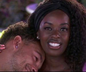 black women, black couple, and celebrity couple image