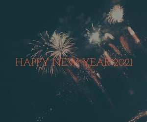 background, fireworks, and january image