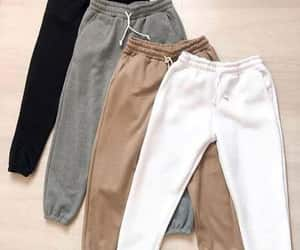 neutrals and sweatpants image