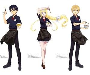 alice, anime girl, and sword art online image