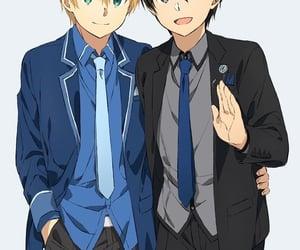 anime, handsome, and anime boys image