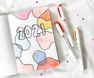 bujo, bullet journal, and monthly cover image