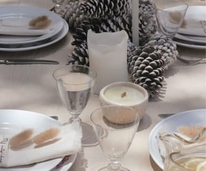 christmas table image
