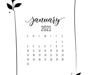 background, black and white, and calendar image