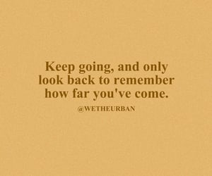 quote, words, and keep going image
