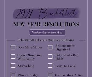 checklist, highlight, and new year image