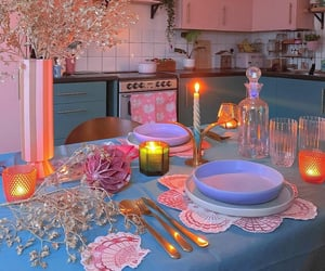aesthetic, bright, and candles image