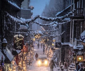 christmas, happy new year, and snow image