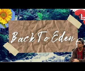 back, eden, and homemade image