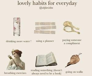 edit, habits, and plan image