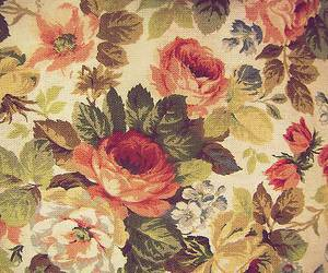 floral, pattern, and pretty image
