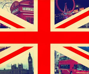 london, england, and flag image
