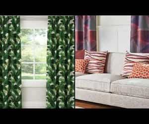 curtains, home diy, and interior design image