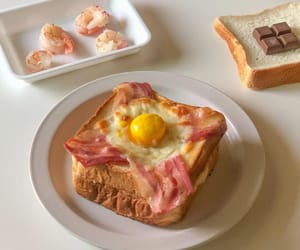 bacon, delicious, and eggs image