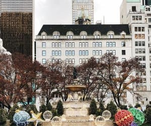 favourite, christmas decorations, and new york city image